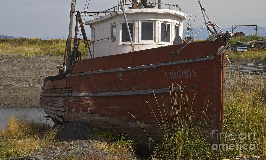 Boat Photograph - Virginis by Rick  Monyahan