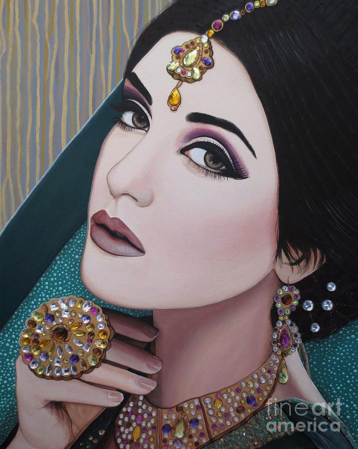 Viridian Indian Beauty by Malinda Prudhomme