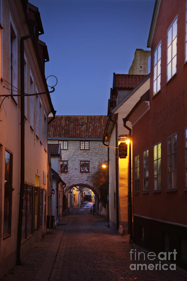 Evening Photograph - Visby Evening  by Ladi Kirn