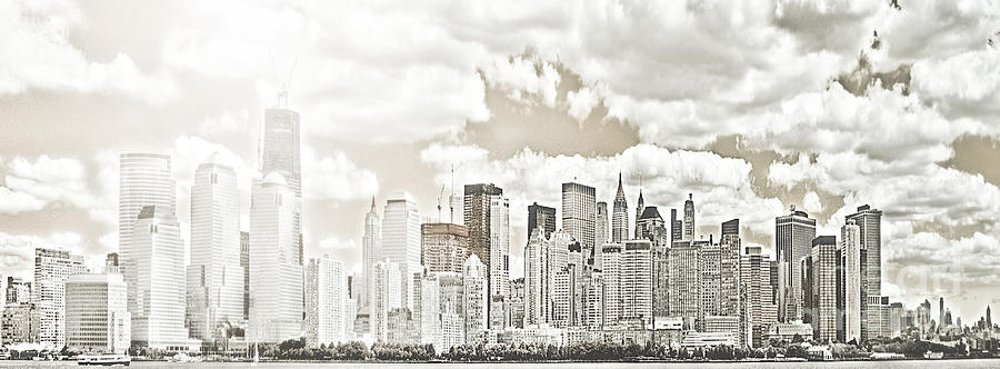 Big Apple Photograph - Visions In My Mind by Janie Johnson