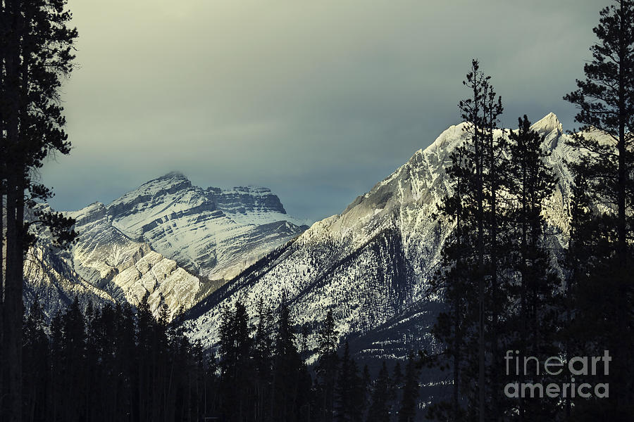 Canmore Photograph - Visions Prelude by Evelina Kremsdorf