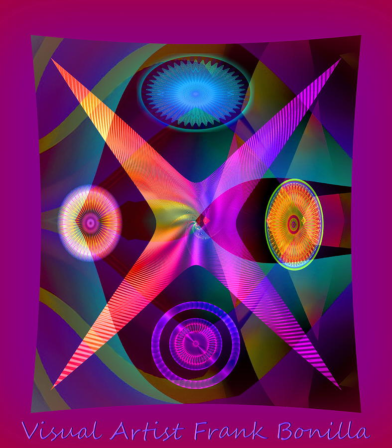 Vision Digital Art - Visions by Visual Artist  Frank Bonilla