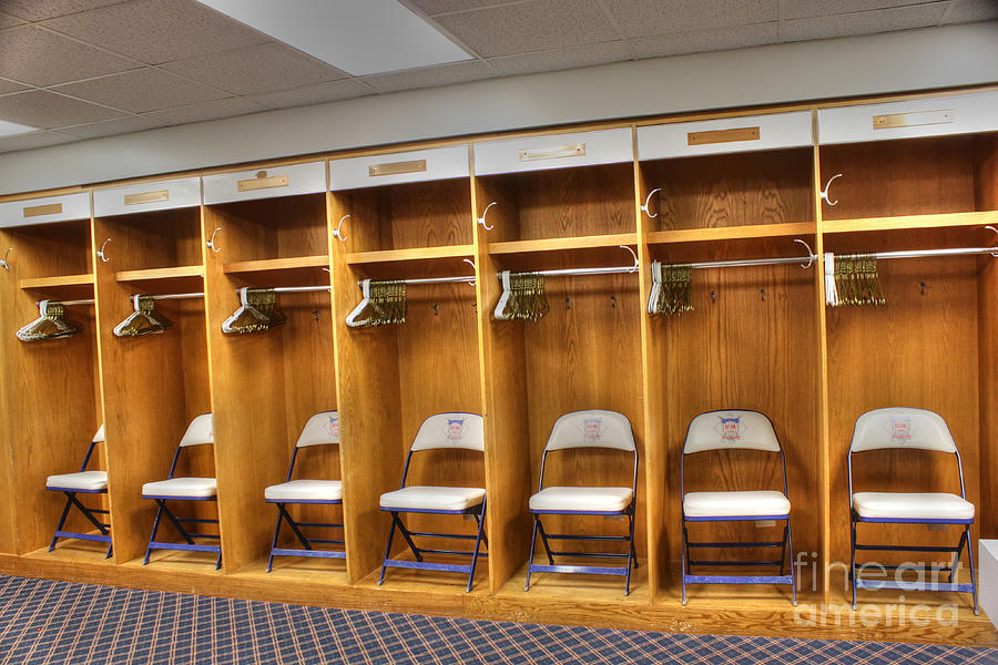 Visitors Clubhouse Photograph - Visitors by David Bearden