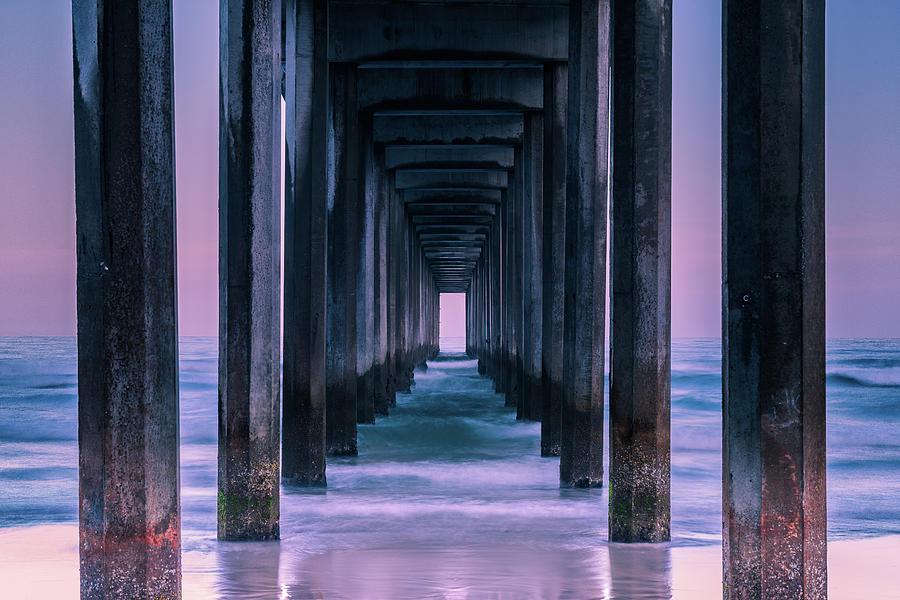 Pier Photograph - Vista by Andreas Agazzi