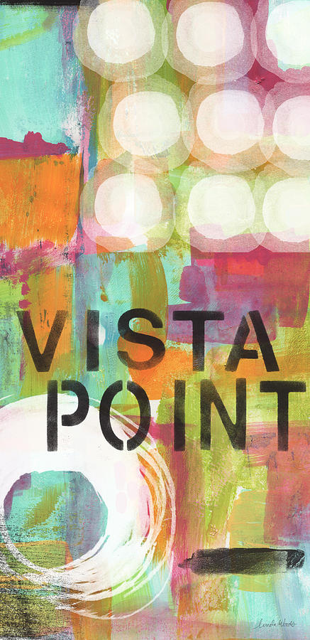 Vista Point- Contemporary Abstract Art Painting