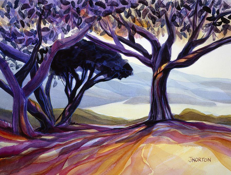 Jen Norton Painting - Vista Point by Jen Norton