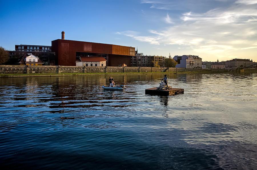 Vistula Photograph - Vistula River by Tomasz Dziubinski