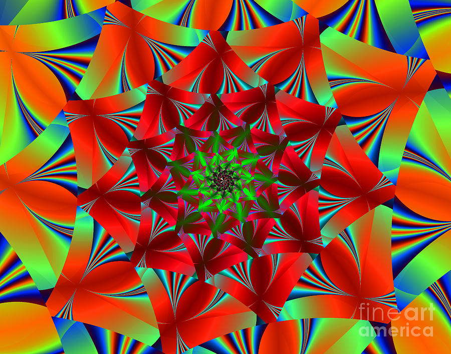 Visual Delight Digital Art By Ester Rogers