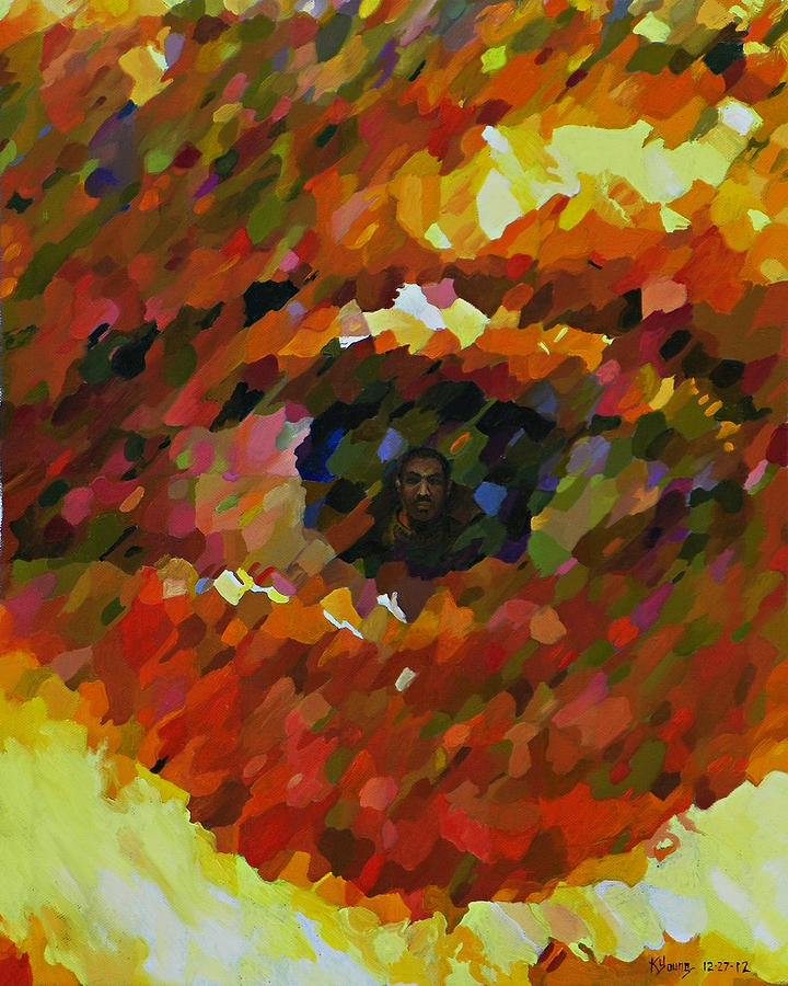 Eye Painting - Visual Perception by Kenneth Young