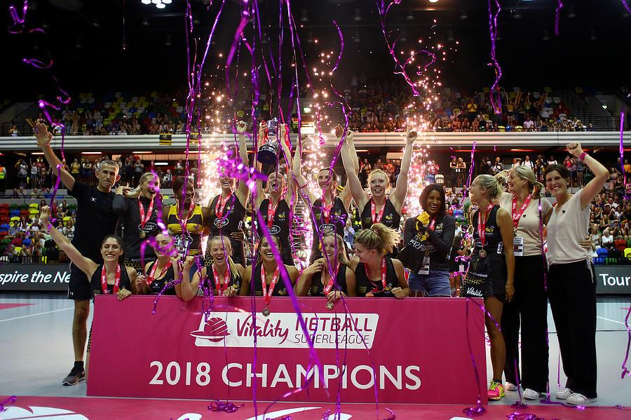 Vitality Netball Superleague Grand Final Photograph by Charlie Crowhurst