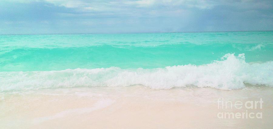 Beach Photograph - Vitamin Sea by Tina Wimberley