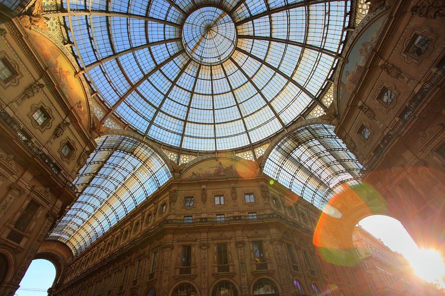 Vittorio Emanuele II Gallery In Milan Photograph by Massimo Pizzotti