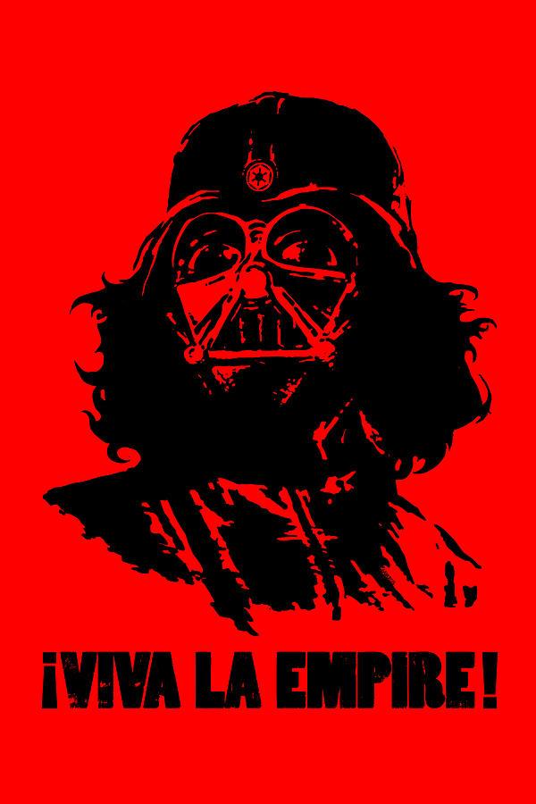 Vader Digital Art - Viva La Empire by Vincent Carrozza
