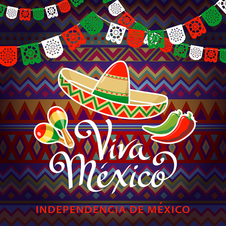 Viva Mexico Independence Celebration Photograph by Exxorian