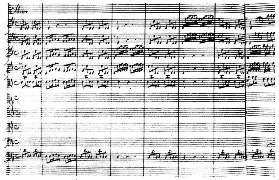 18th Century Painting - Vivaldi Manuscript by Granger