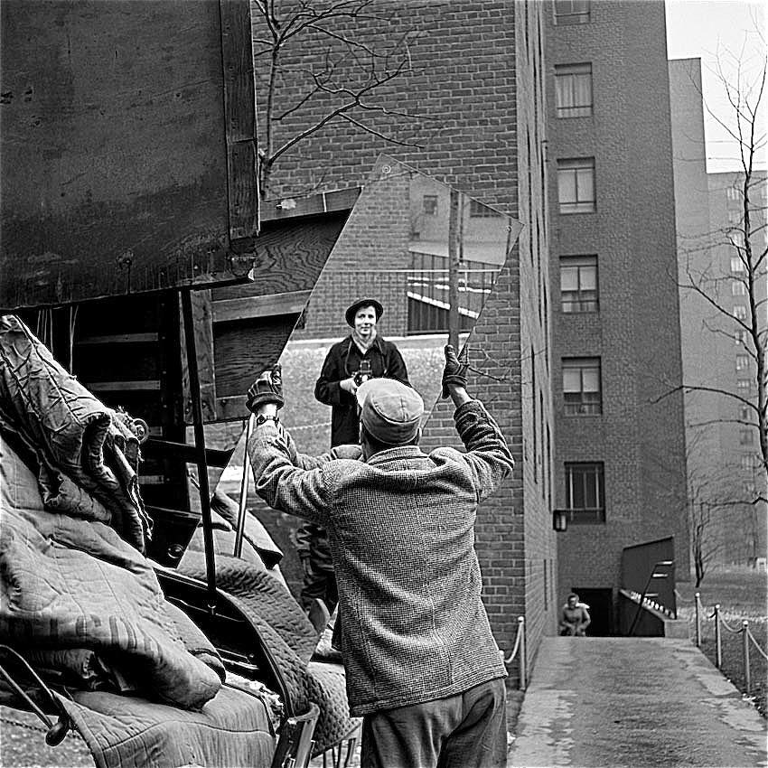 Vivian Maier Self Portrait Probably Taken In Chicago Illinois 1955 Photograph