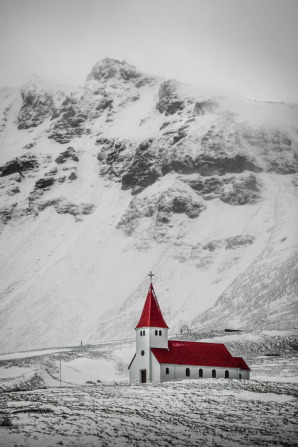 Vík í Mýrdal Church I Photograph by Mabry Campbell