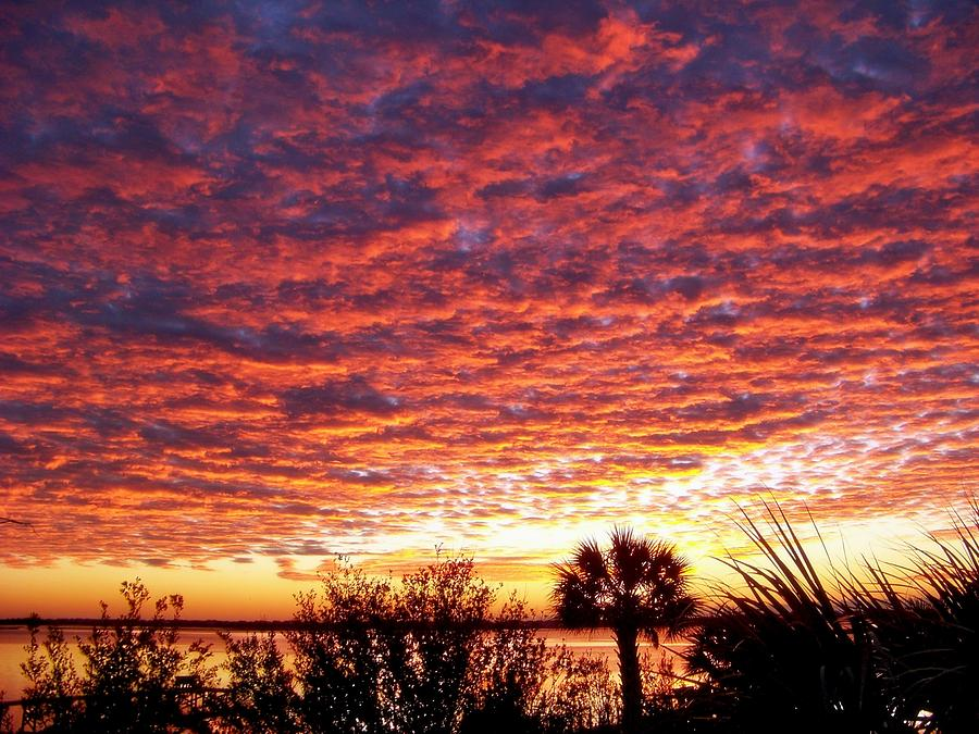 Skyscapes Photograph - Voice Of God by Karen Wiles