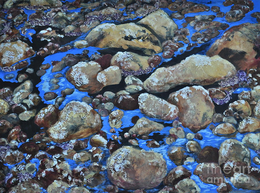 Nature Painting - Voice Of The Stones by Carla Stein