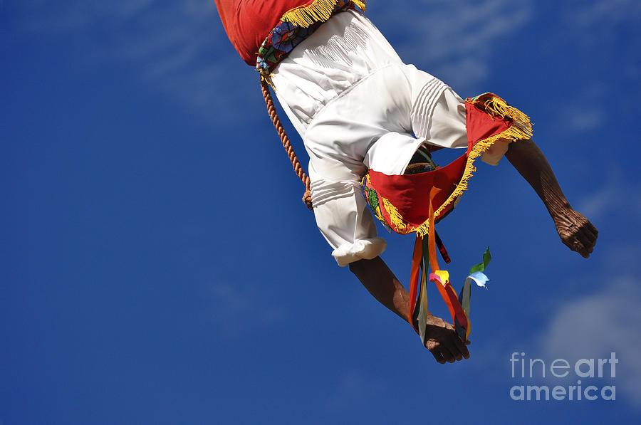 Mexico Photograph - Volador de Papantla by Kristine Celorio