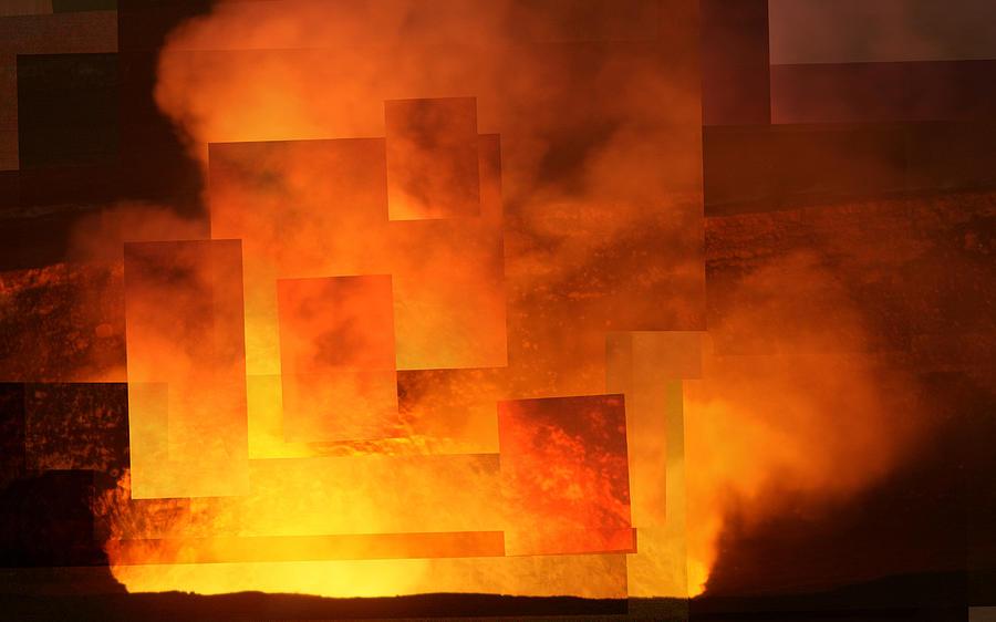Hawaii Photograph - Volcanic Fire - Kilauea Caldera  by Stephen Farley