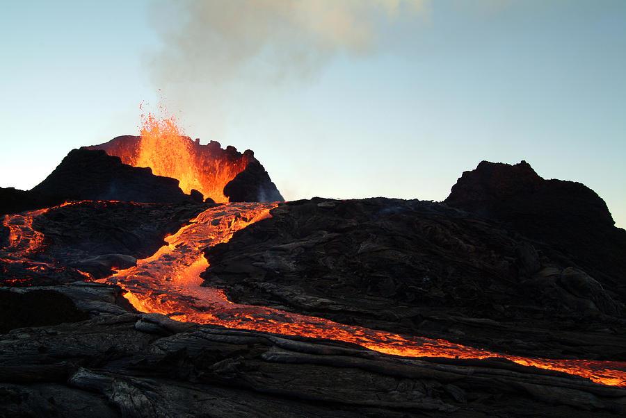 Volcano Eruption Photograph by Beboy_ltd