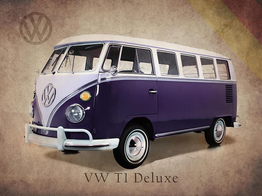 Volkswagen Photograph - Volkswagen T1 Bus by Mark Rogan