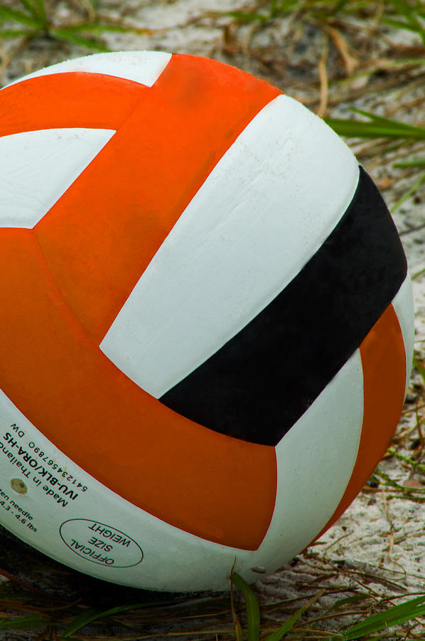 Sports Photograph - Volleyball by Diane Bell
