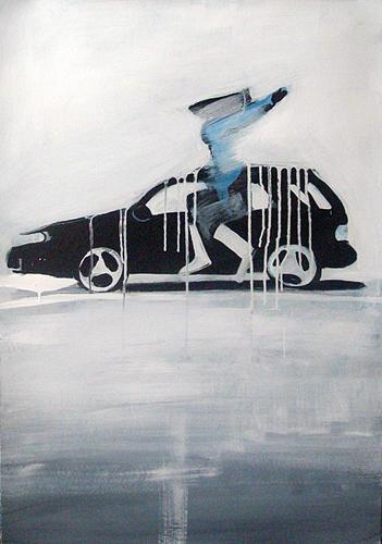 Car Painting - Volvo by Mikolaj Obrycki