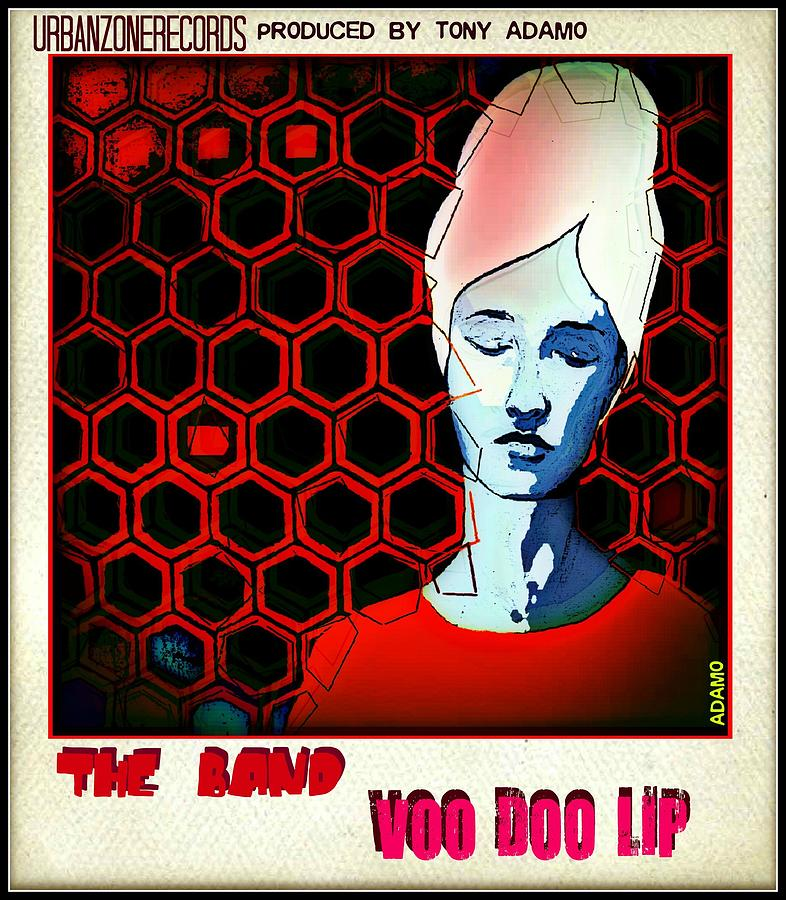 Voo Doo Lip Digital Art by Tony Adamo