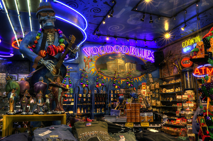 Voodoo blues new orleans photograph by greg mimbs for Craft store new orleans