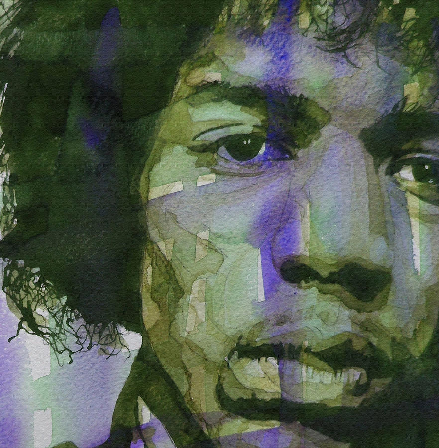 Jimi Hendrix Painting - Voodoo Child by Paul Lovering
