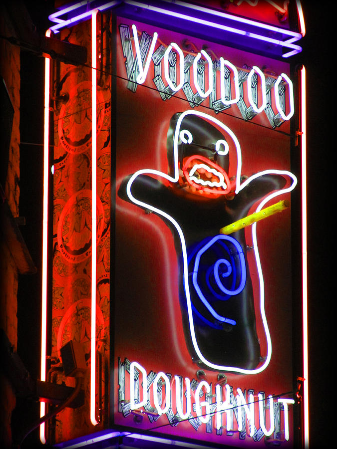 Voodoo Doughnuts Photograph - Voodoo Doughnuts by Gail Lawnicki