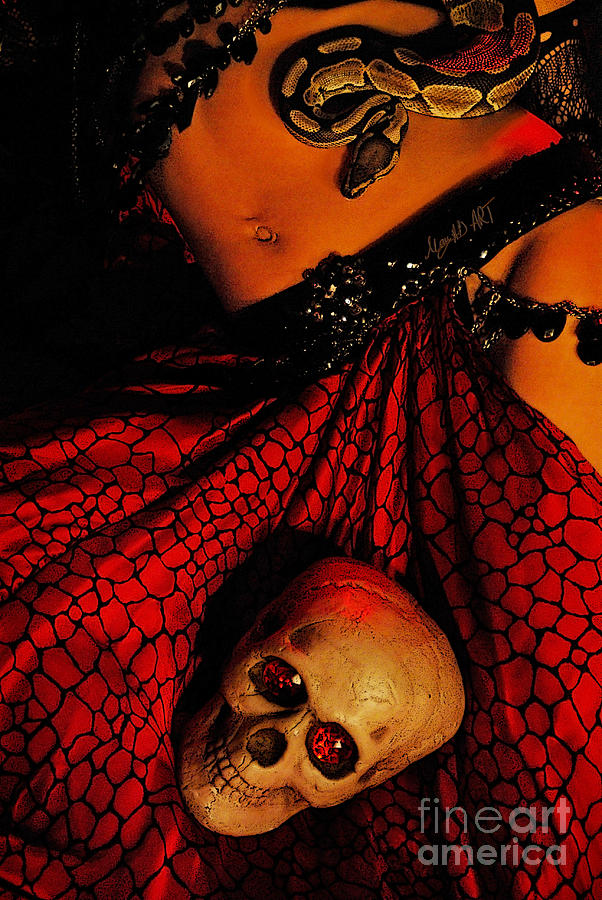 Belly Photograph - Voodoo by MAD Art and Circus