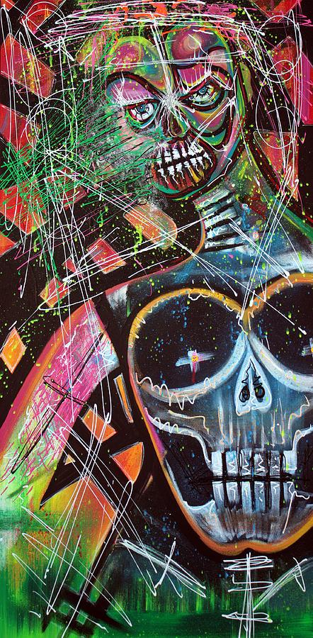 Voodoo Painting - VOODOO Queen by Laura Barbosa