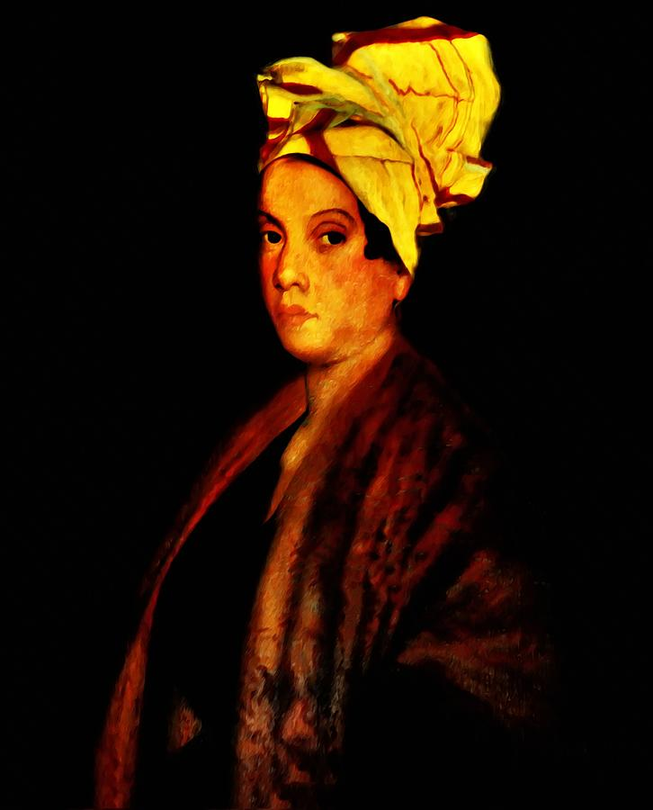 Voodoo Photograph - Voodoo Queen - Marie Laveau by Bill Cannon