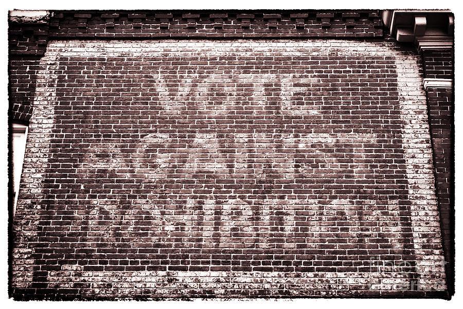Prohibition Photograph - Vote Against Prohibition II by John Rizzuto