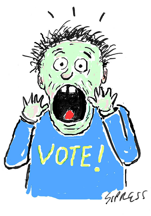 Vote! Drawing by David Sipress