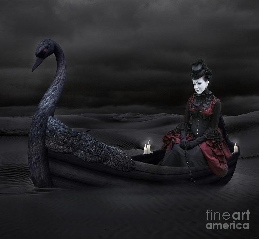 Artwork Digital Art - Voyage Across The Sand by Lynn Jackson