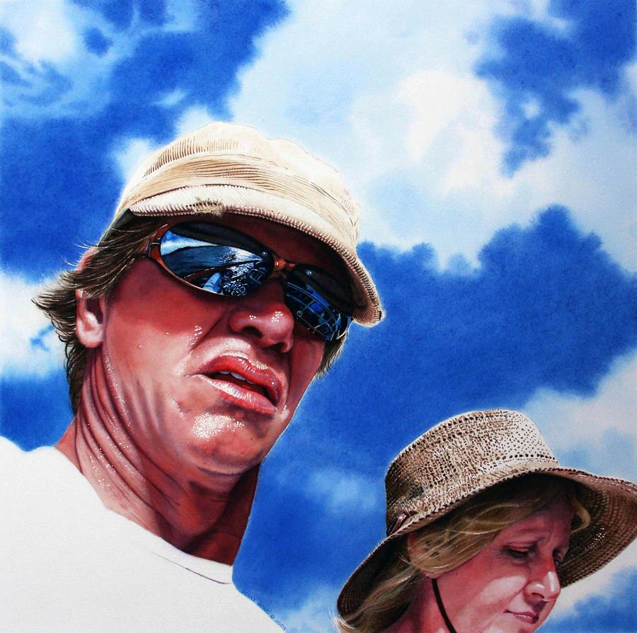 Sky Painting - Voyage by Denny Bond