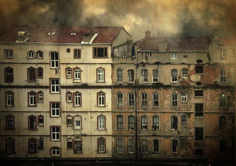 Windows Photograph - Voyeur by Taylan Apukovska