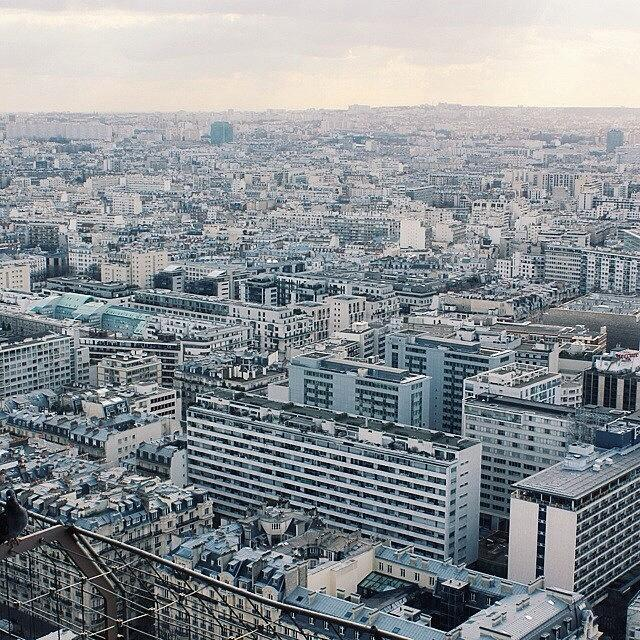 City Photograph - #vscocam #vsco #paris #skyline #city by Kaeman Graham