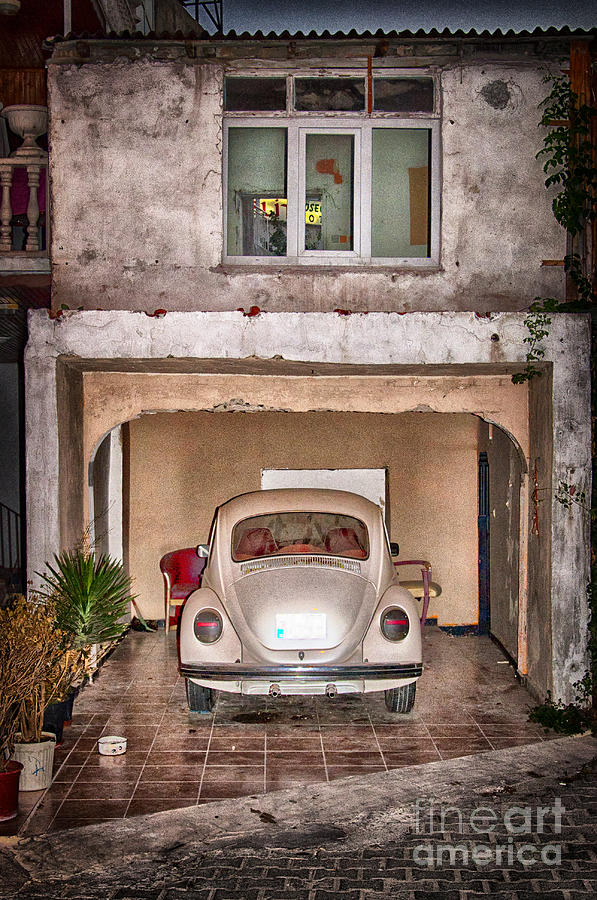 Car Photograph - Vw Beetle by Antony McAulay