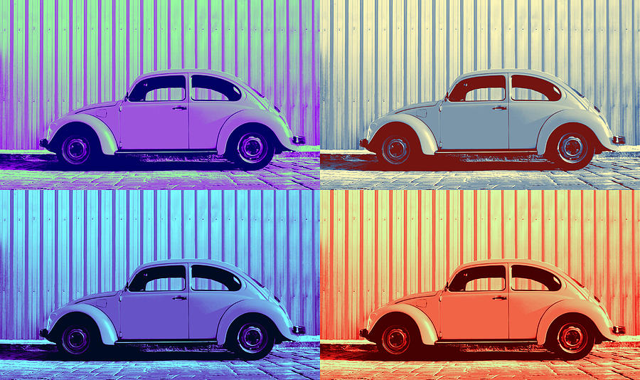 Vw Pop Winter Photograph by Laura Fasulo