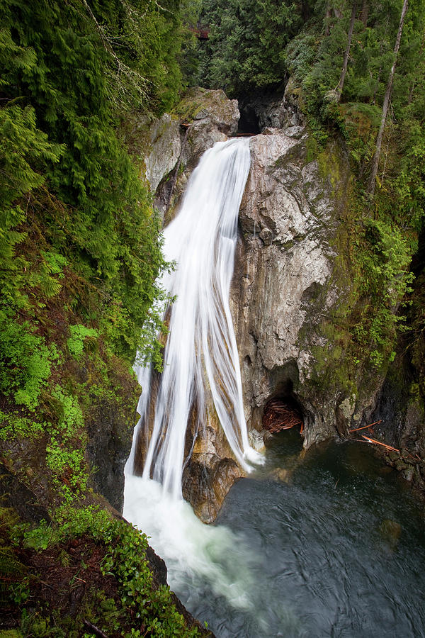 Creek Photograph - Wa, Olallie State Park, Twin Falls by Jamie and Judy Wild