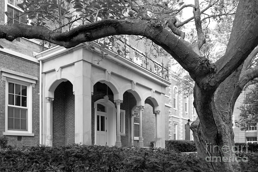 Crawfordsville Photograph - Wabash College Center Hall by University Icons