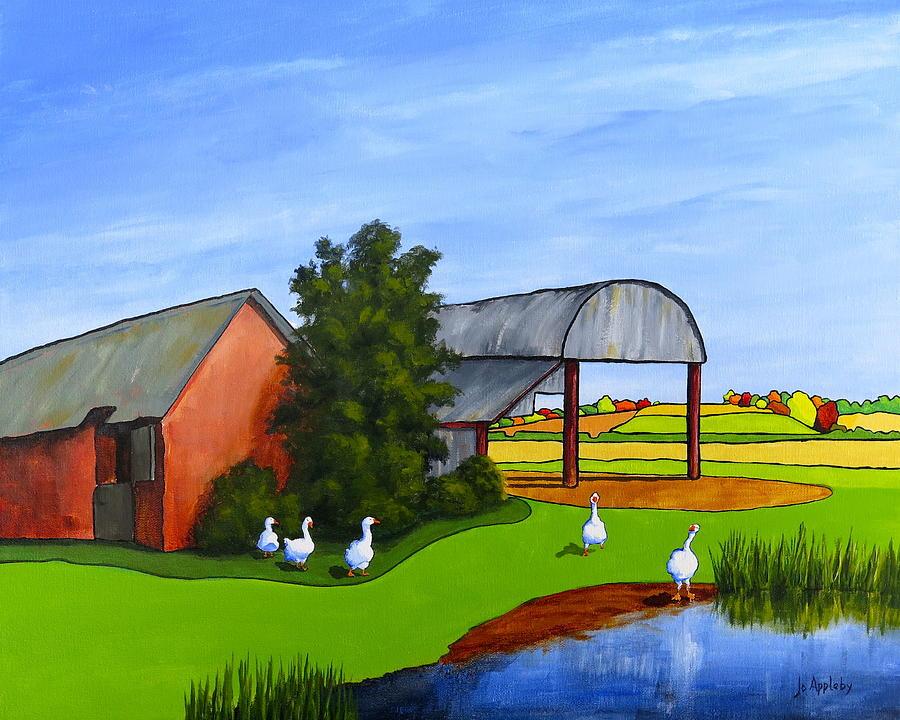 Waddle Pond by Jo Appleby