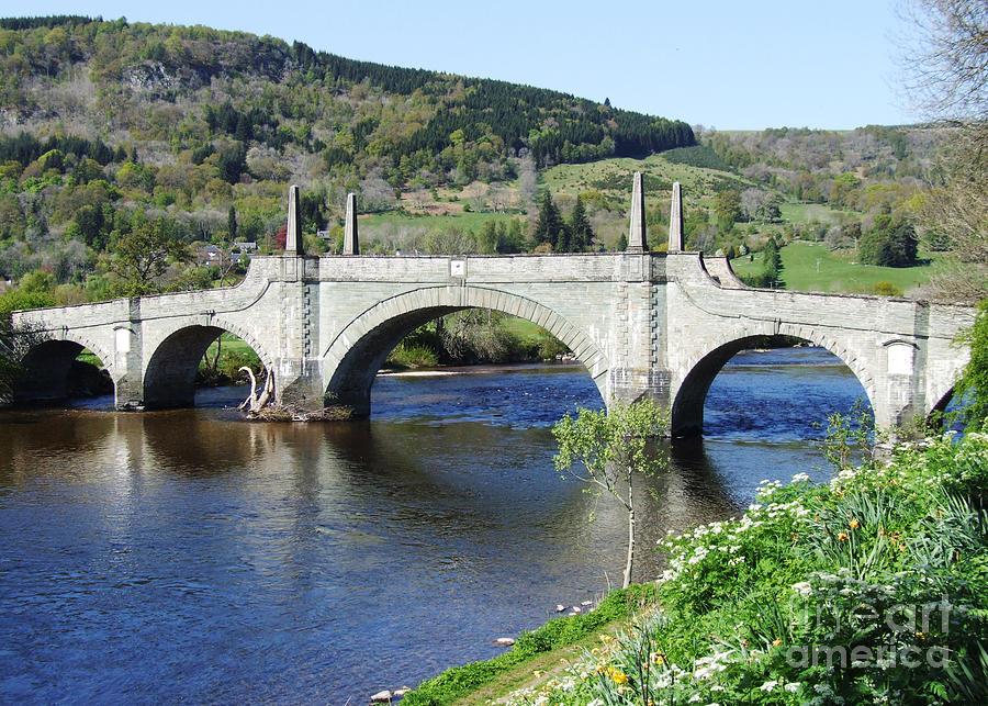 Aberfeldy Photograph - Wades Bridge - Aberfeldy - Scotland by Phil Banks