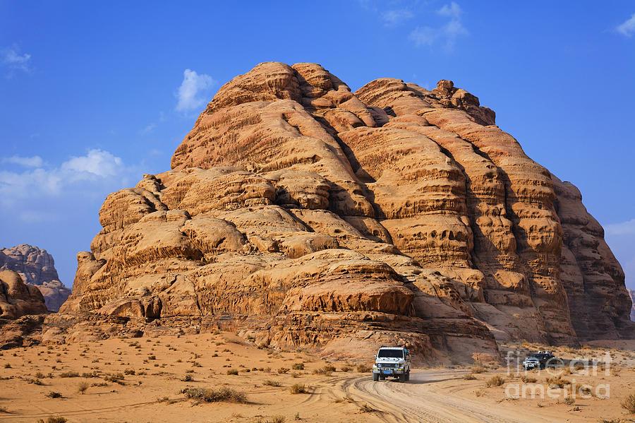 Wadi Rum Photograph - Wadi Rum In Jordan by Robert Preston