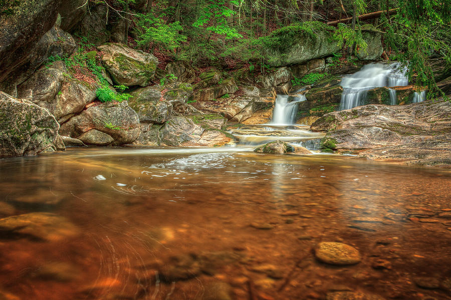 Kent Falls Photograph - Wading Pool by Bill Wakeley